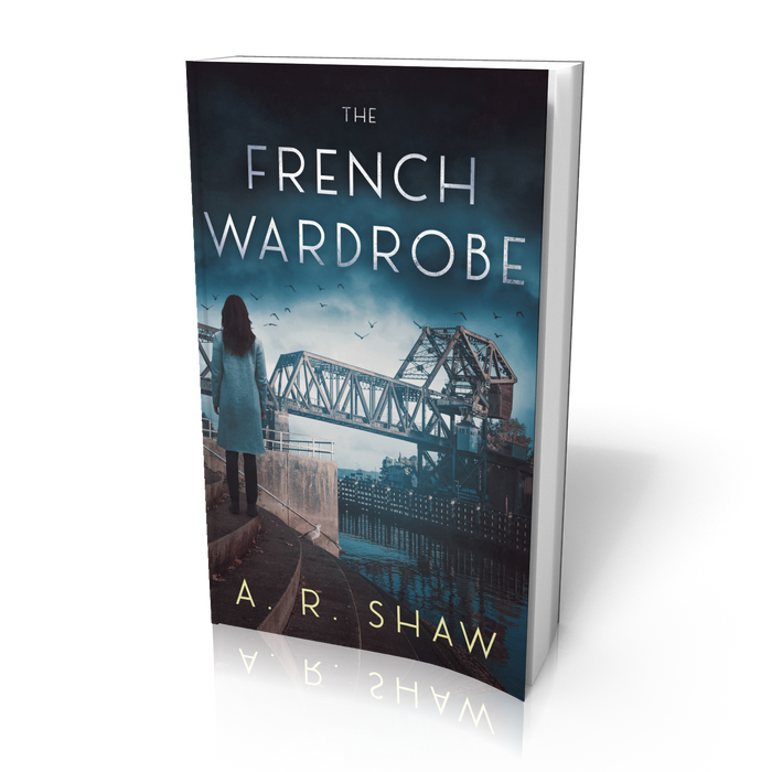 The French Wardrobe - A Mystery - Paperback Edition - Author AR Shaw