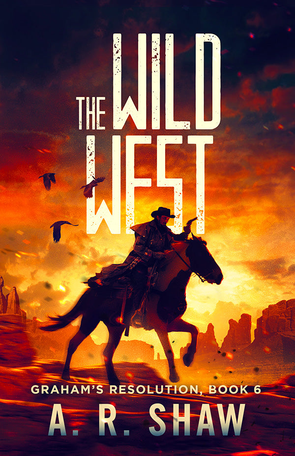 Graham's Resolution, Book 6, The Wild West image