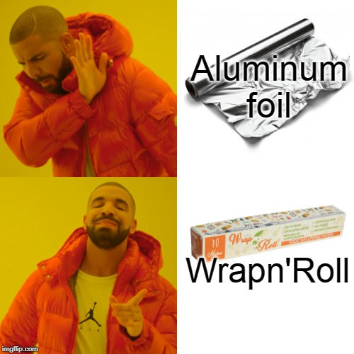 """Aluminum Foil"" Unviable for the Health"