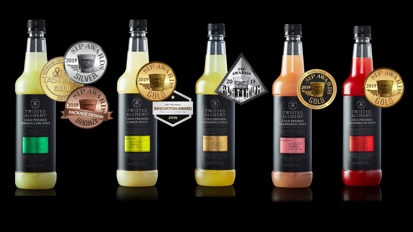 SIP Awards Results Reveal 7 Big Wins for Twisted Alchemy Cold-Pressed Juice!