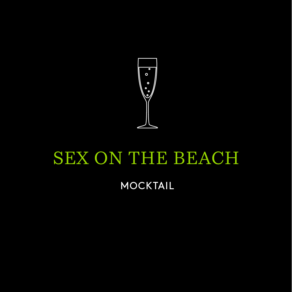 Sex on the Beach Mocktail