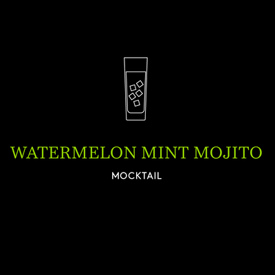 Watermelon Mint Mojito Mocktail