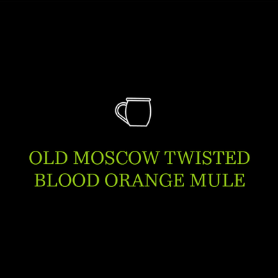 Old Moscow Twisted Blood Orange Mule