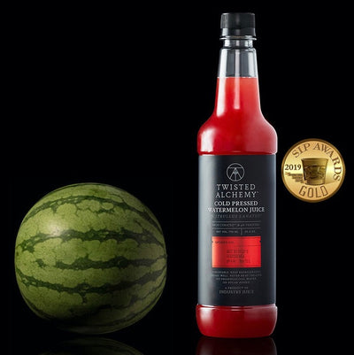 25.4OZ- WATERMELON 100% JUICE FRESH COLD PRESSED CRAFT MIXER