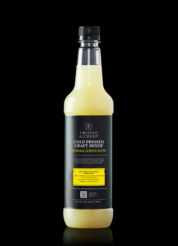 FRESH LEMON SOUR-COLD PRESSED CRAFT MIXER
