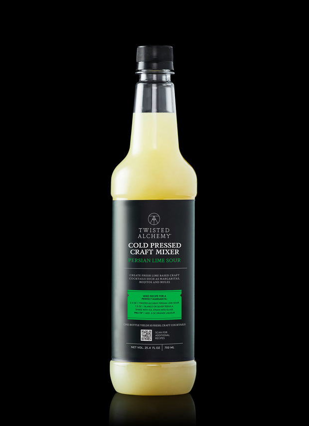 1 BOTTLE-PERSIAN LIME SOUR FRESH COLD PRESSED CRAFT MIXER