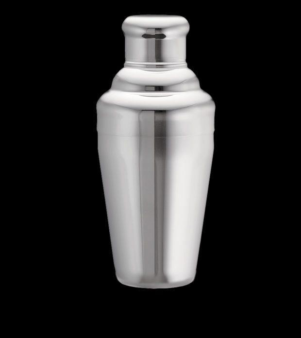 Cobbler Shaker -High Grade Stainless Steel Shaker with built-in Strainer
