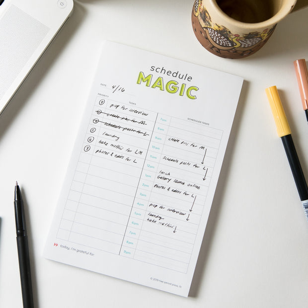 Schedule Magic To-Do List Planner