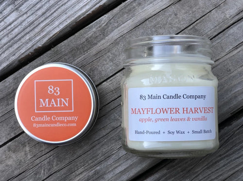 Mayflower Harvest Candle