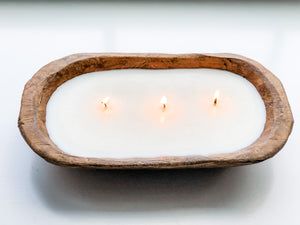 UNSCENTED Dough Bowl Candle