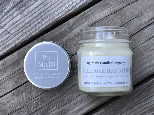 Village Hayride Candle
