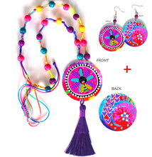 Load image into Gallery viewer, Purple Pop Jewellery Set