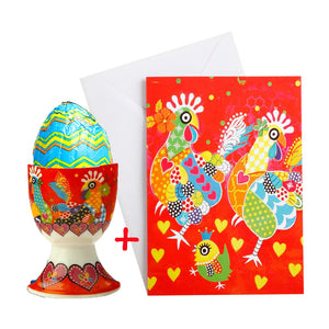 Chicken Dance (Gift Wrapped + Card)