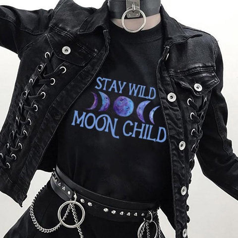 Stay Wild Moon Child Graphic Tee