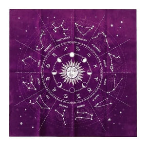 mermaid-vemon,Velvet Divination Tarot Card Altar Cloth.