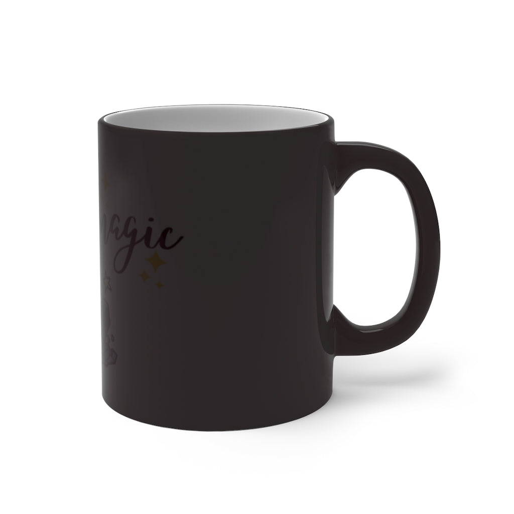 Dark Slate Gray Full of Magic Color Changing Mug