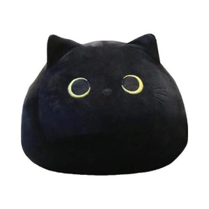 mermaid-vemon,Black Cat Stuffed Animal Pillow.