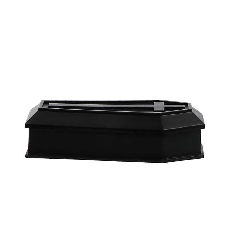 mermaid-vemon,Black Coffin Decor Box.