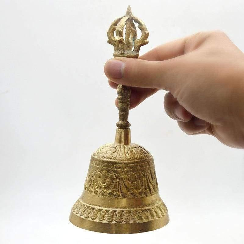 mermaid-vemon,Brass Altar Bell.