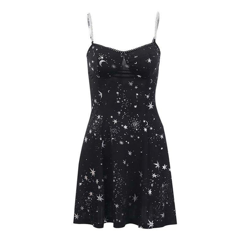 mermaid-vemon,Cosmic Dust Skater Dress.