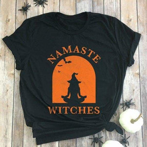 mermaid-vemon,Namaste Witches Tee.