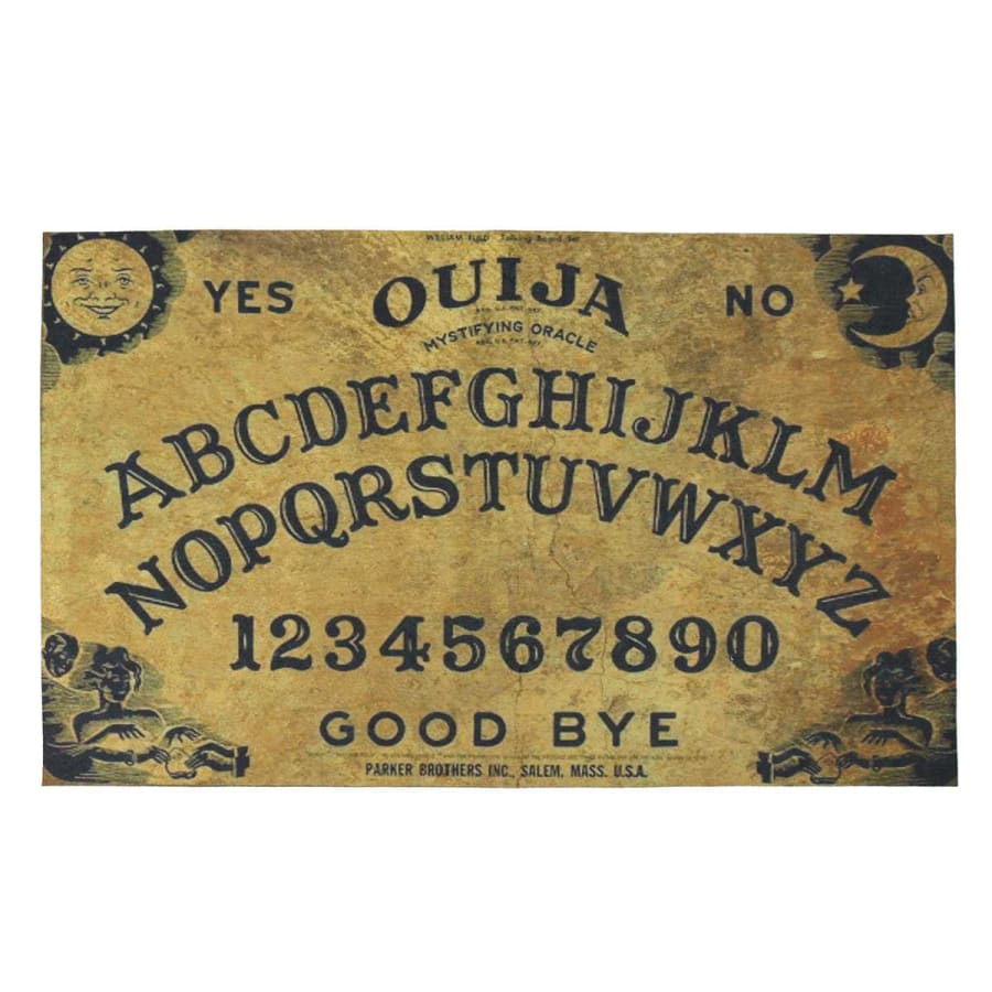 mermaid-vemon,Ouija Board Door Mat.