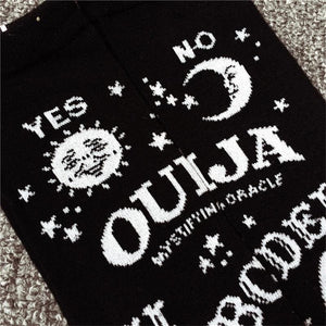 mermaid-vemon,Ouija Board Thigh High Over The Knee Socks.