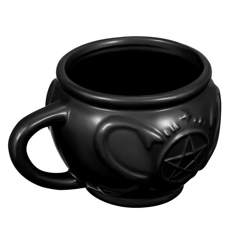 Ceramic Witches Cauldron Mug