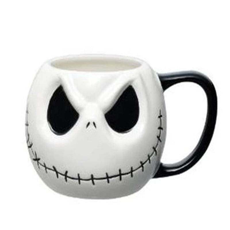 mermaid-vemon,Pumpkin King Jack Skellington Ceramics Mug.