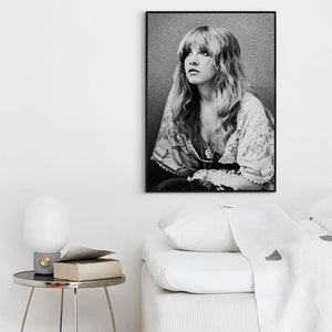 mermaid-vemon,Stevie Nicks Wall Home Decor Wall Art.