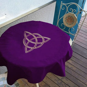 mermaid-vemon,Velvet Tarot Tablecloth.