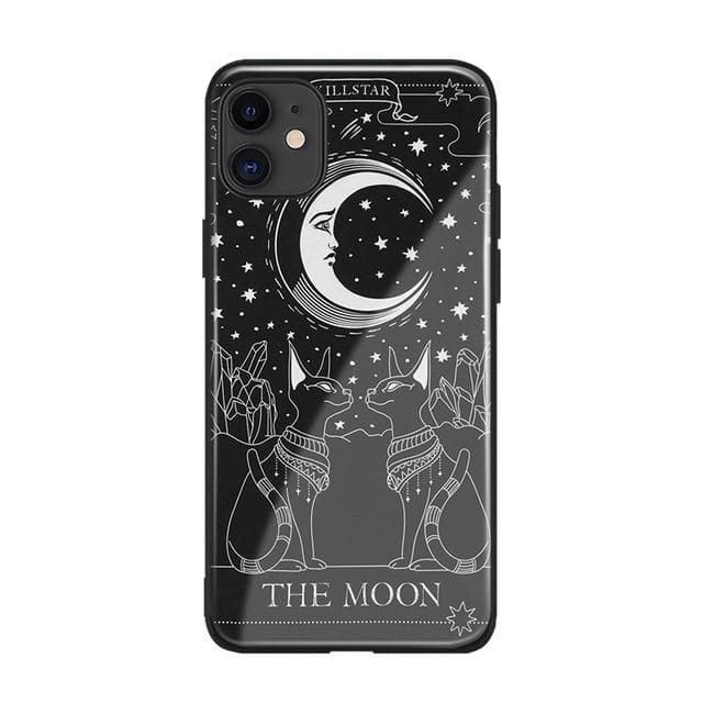mermaid-vemon,Witches Moon Tarot Card Soft Silicone Phone Case Cover Shell For iPhone SE 6s 7 8 Plus X XR XS 11 12 mini Pro MAX.