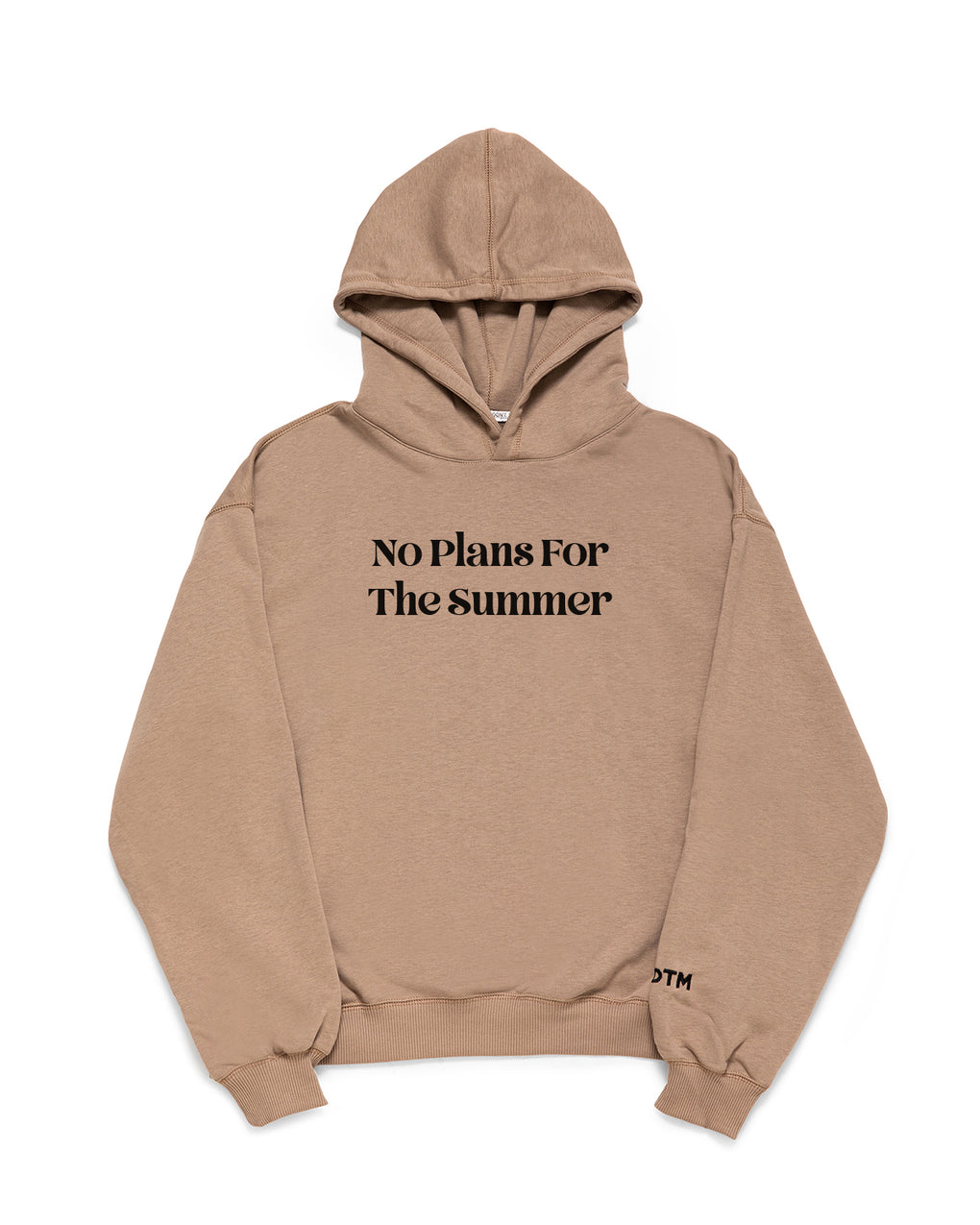 NO PLANS FOR THE SUMMER- HOODIE