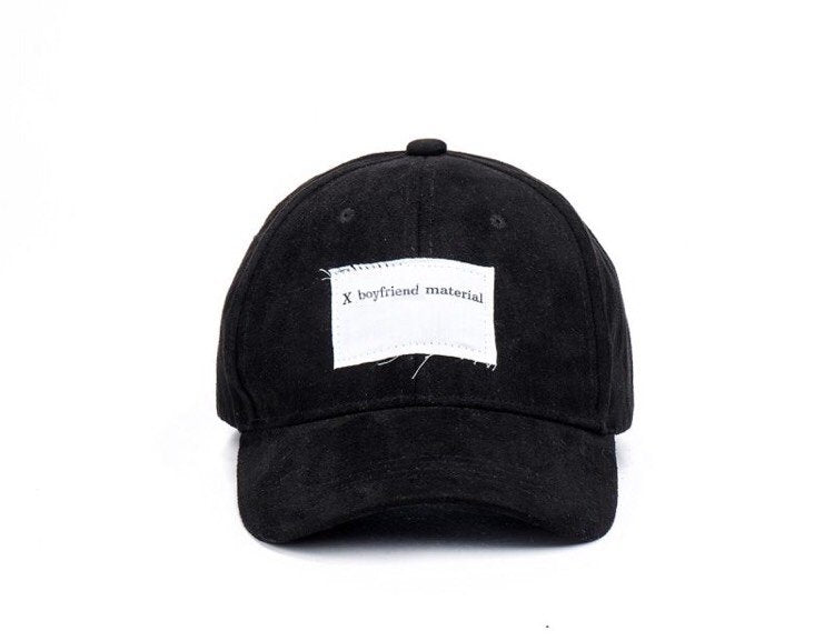 Faux Suede Cap xgirlfriend // DON'T TELL MAMA