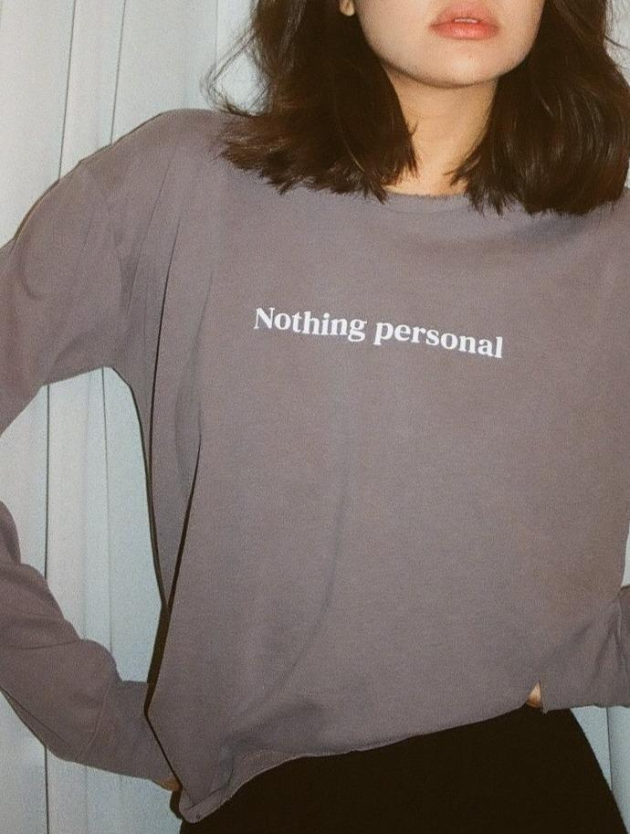 NOTHING PERSONAL // DON'T TELL MAMA