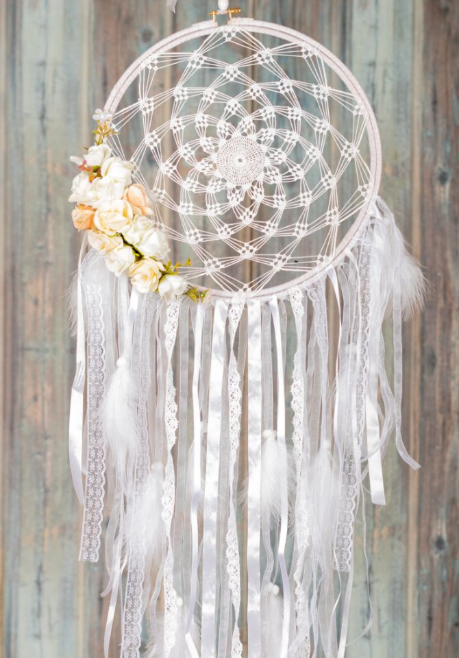 PURE WHITE Dreamcatcher