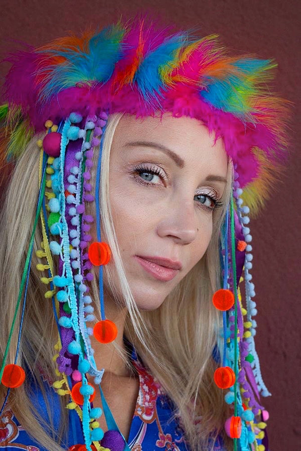 RAINBOW Headpiece