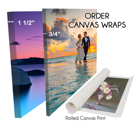 Canvas/Gallery Wraps