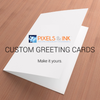 5x7 Custom Greeting Card