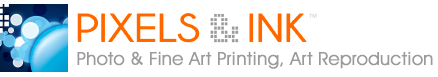 pixels and ink, fine art printing