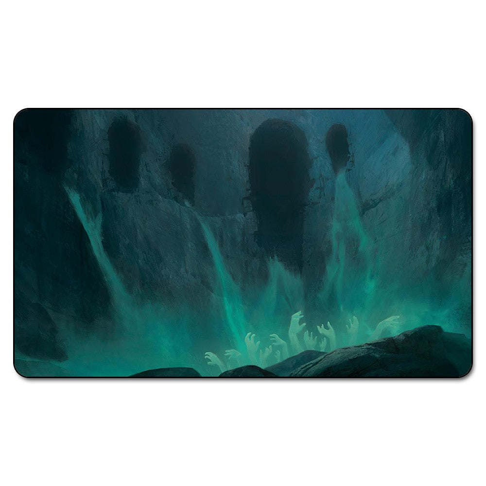 Many Choice Magic Card Games Custom Playmat MGT CAVERN OF SOULS Playmat, Board Games Ultra. Table Pad Pro with Free Bag - TCG Dealer