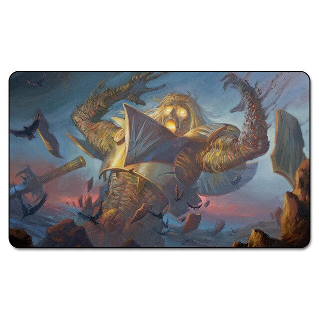 Many Choice Magic Card Games Custom Playmat MGT Cascading Cataracts Playmat, Board Games Ultra. Table Pad Pro with Free Bag - TCG Dealer