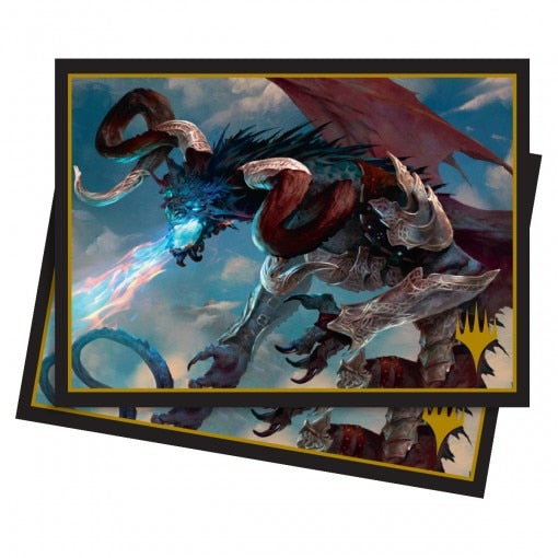 100 PCS/LOT Ultra Pro M19 Elder Dragon Deck Protector Cards Sleeves,Trading Cards Protector Magic Card Shield Cover 66x91mm - TCG Dealer