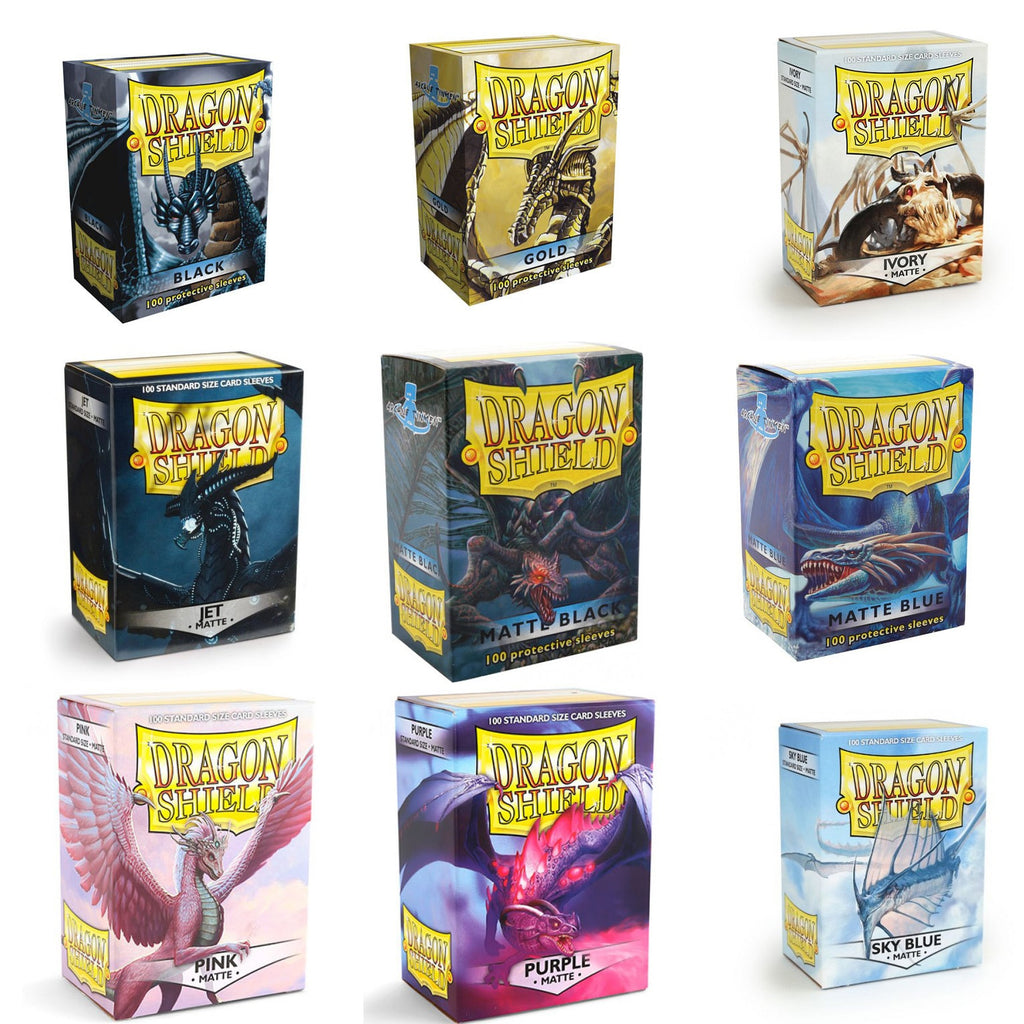 Dragon Shield Card Sleeves Matte 100/box - TCG Dealer