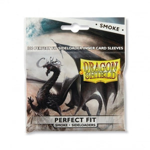 Dragon Shield 100 PCS/LOT Clear or Smoke Perfect Fit Card Sleeves MGT Cards Protector for MGT/Pkm/Board Game Cards Slevee - TCG Dealer