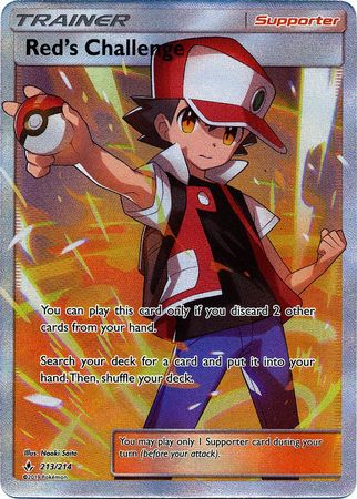 Red's Challenge - 213/214 - Full Art Ultra Rare - TCG Dealer