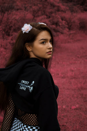 Sweet Deadly Hoodies (black)
