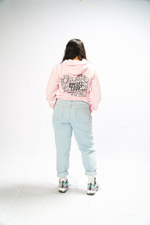 Sweet Deadly Hoodies Version 2 (Light Pink)