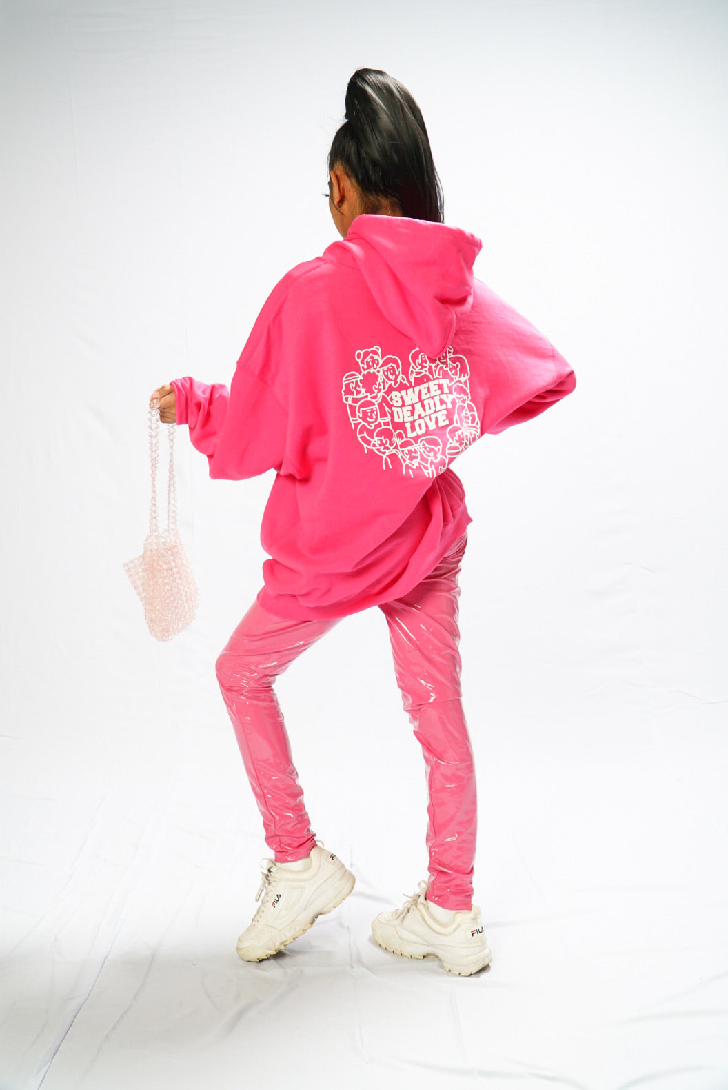 Sweet Deadly Hoodies Version 2 (Hot Pink)