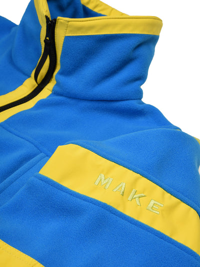 LEOPOLD JACKET - BLUE/GREEN/YELLOW